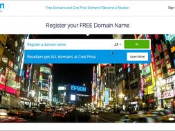Cutaways of Dotml registration, Freenom