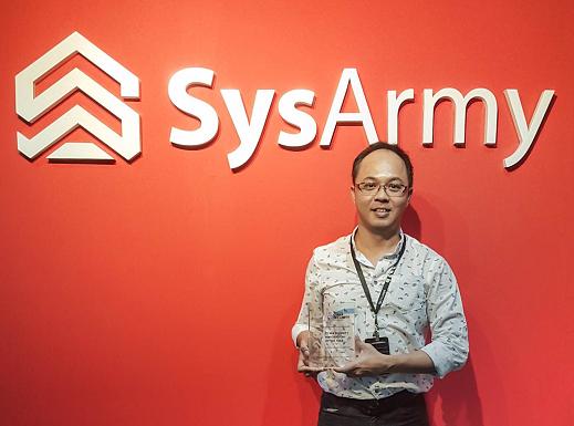 SysArmy Wins Prestigious Malaysia Cyber Security Innovation Award 2016