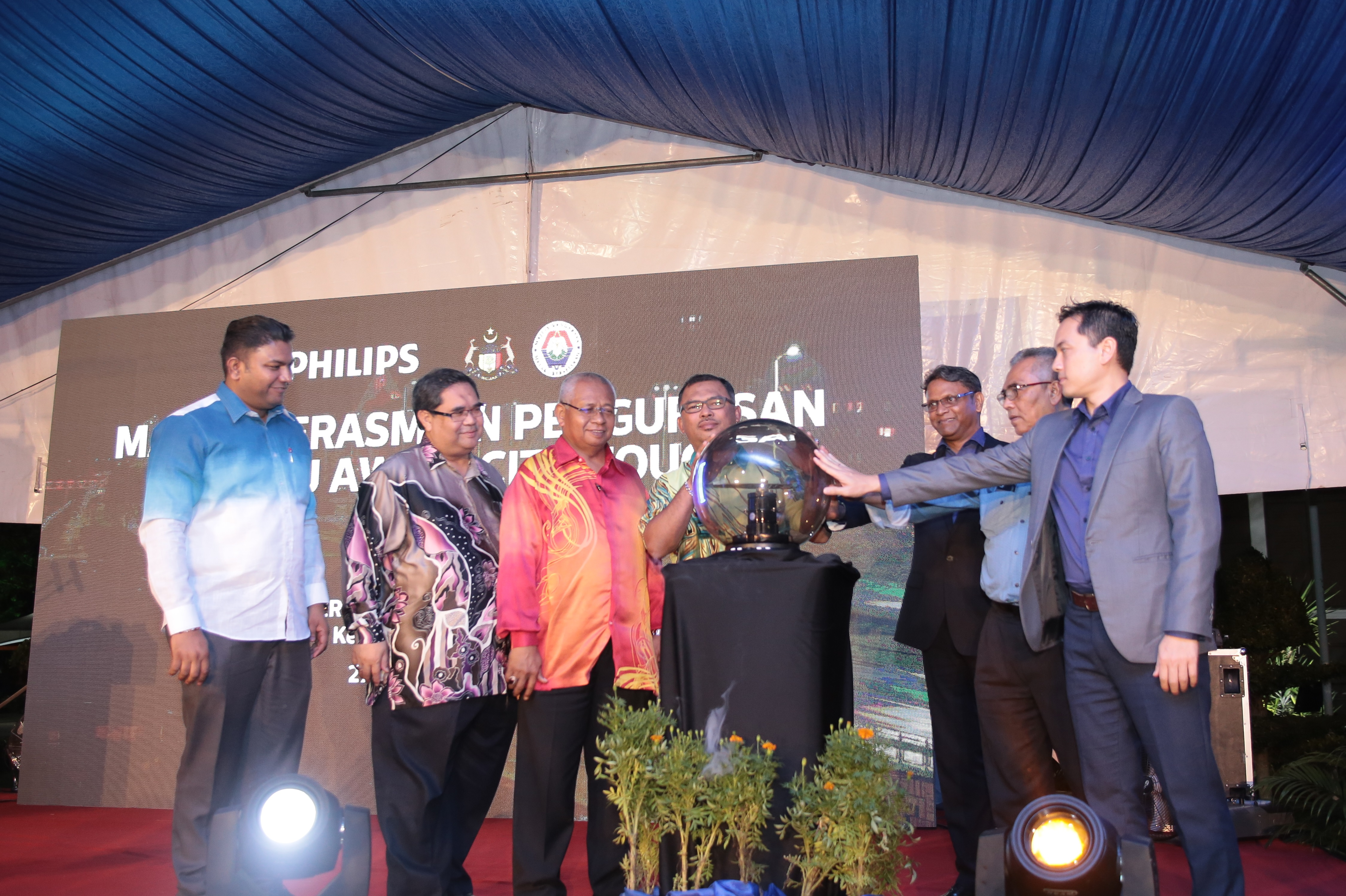 Philips CityTouch system helping Melaka achieve its green technology state transformation