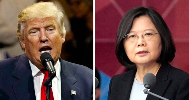 China urges U.S. to honour one-China policy – after Trump's Taiwan call