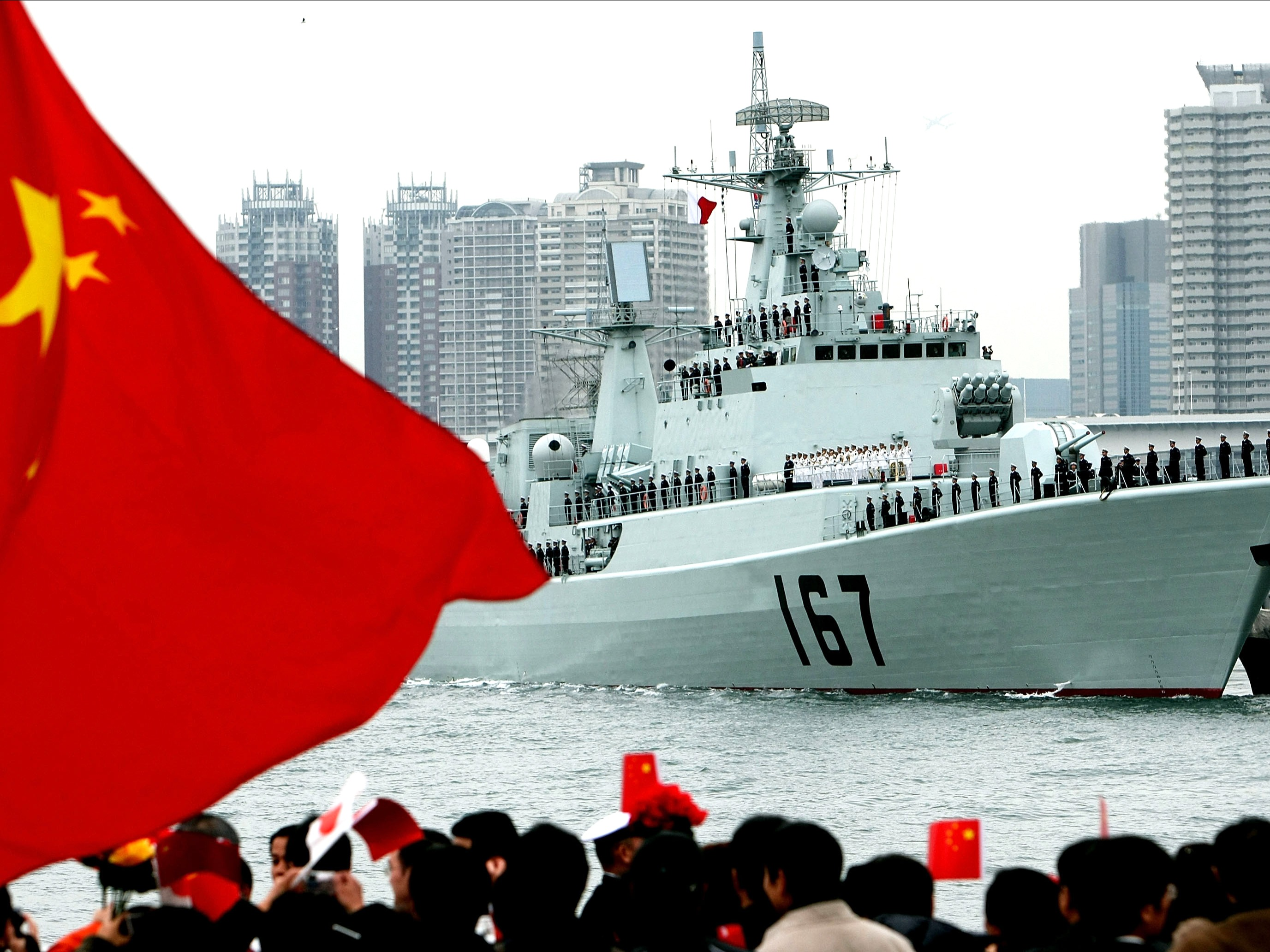 China's Maritime Strategy on the Horizon