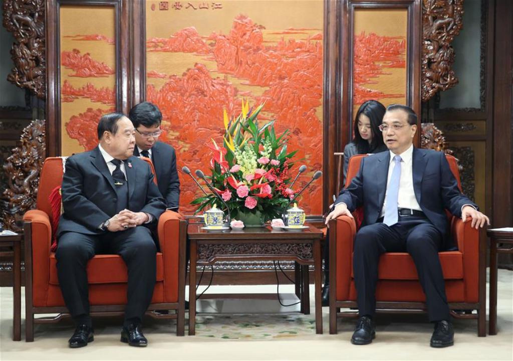 China expects progress in China-Thailand railway
