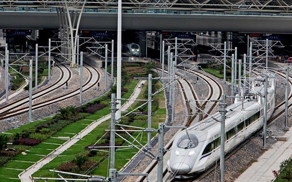 US$500b to boost high-speed rail plan