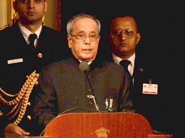 Note ban may lead to 'temporary slowdown' of economy, says Pranab Mukherjee