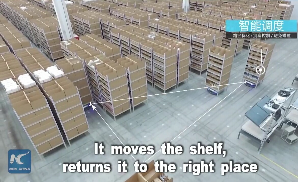 Robots in the warehouse