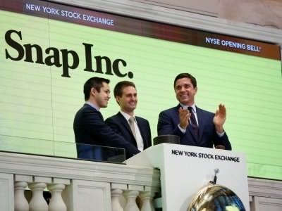 Snap's shares pop after $3.4 billion IPO