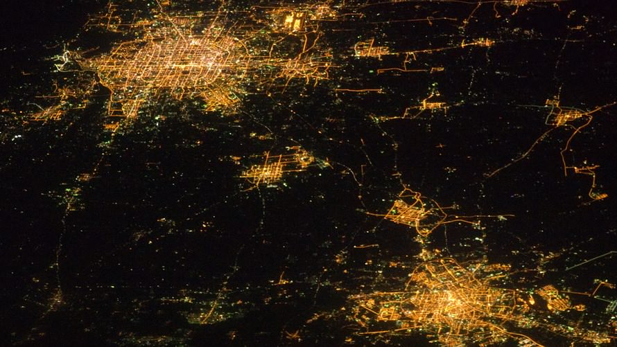 What satellite images reveal about China's economy