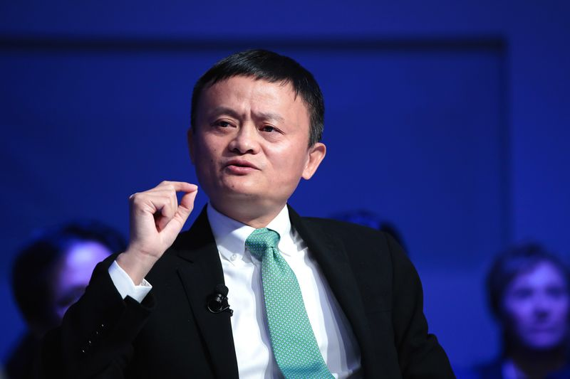Jack Ma's libertarian talk approaches red line