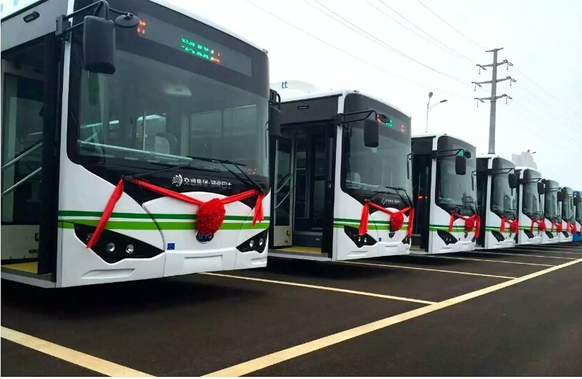 """Guangzhou to replace all buses with """"new energy"""" vehicles by 2020"""
