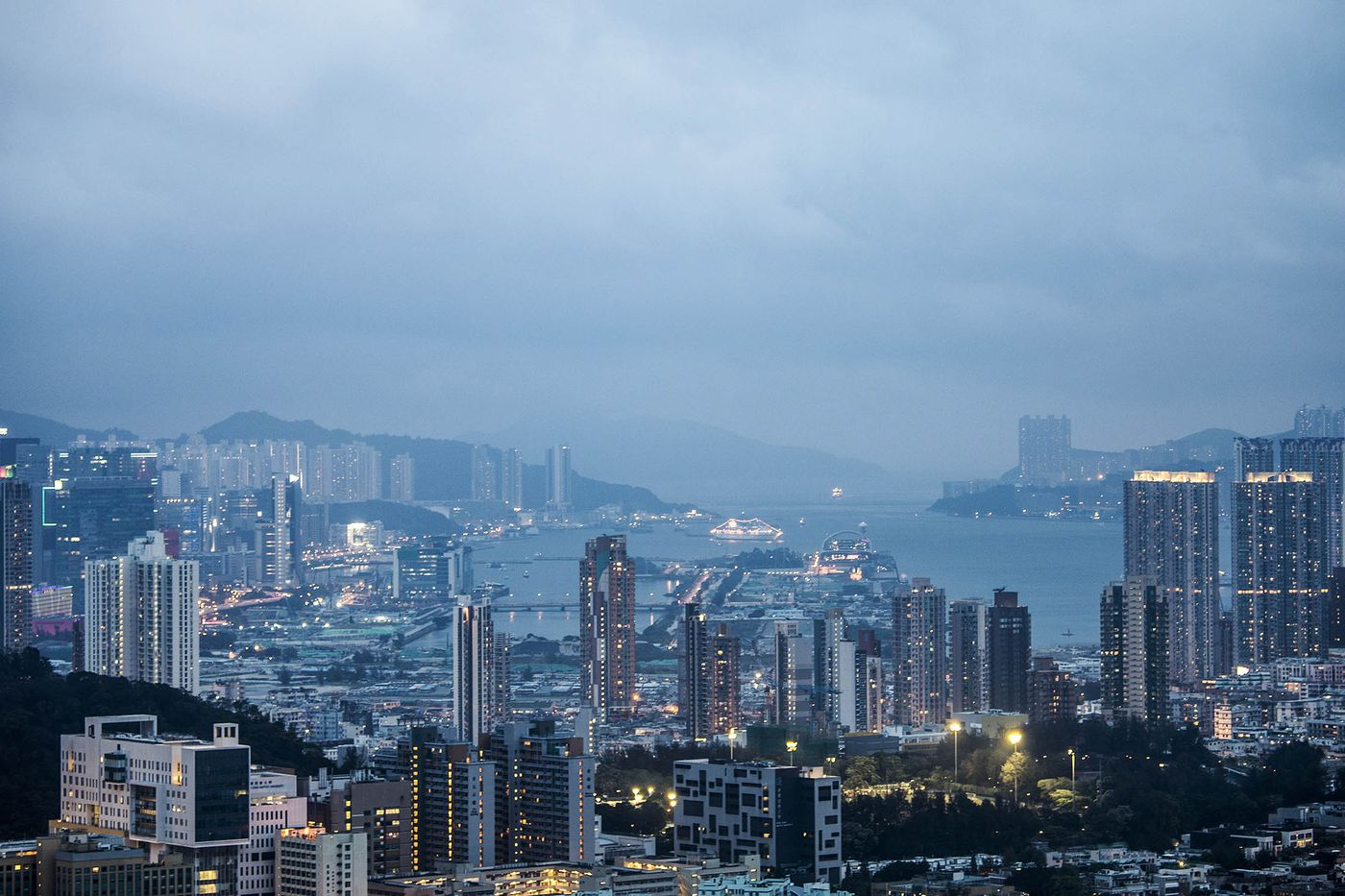 Chinese giants are taking over Hong Kong