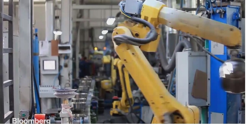 China robots displace workers as wage spiral pressures profits
