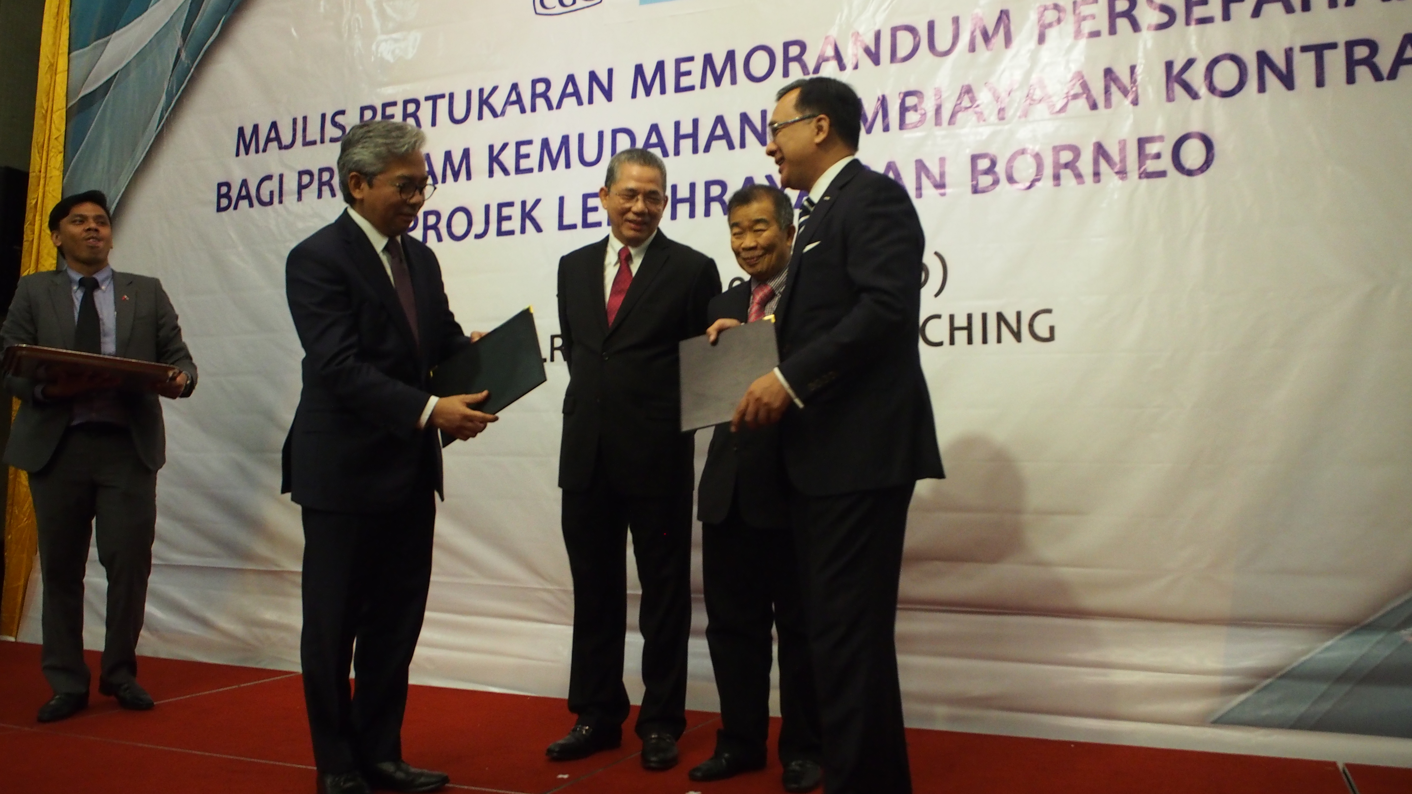 Pan Borneo Highway Sarawak Project Gets going with CGC MoU
