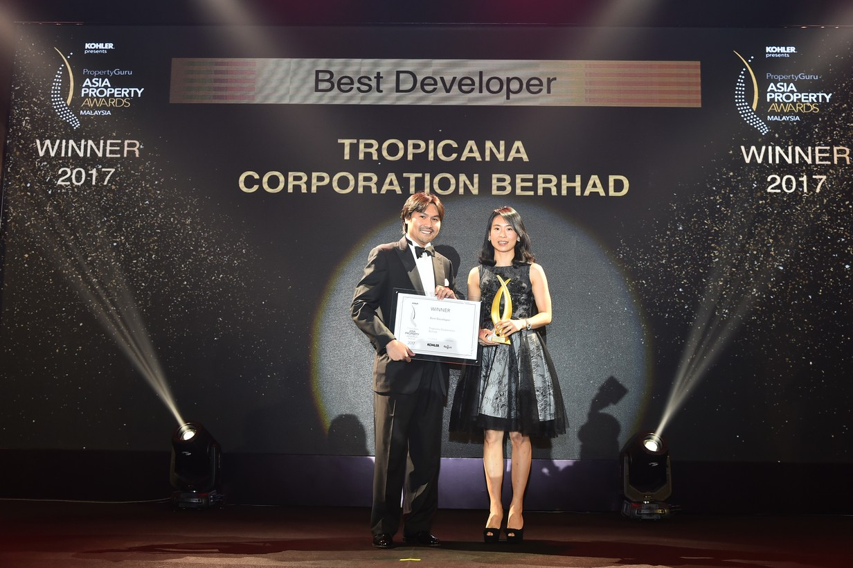 PropertyGuru Asia Property Awards (Malaysia) 2017 recognises the country's outstanding developers