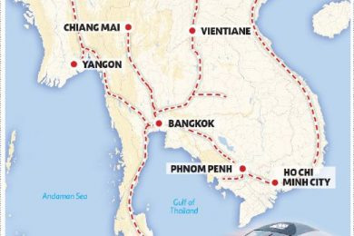 KL-Singapore and Pan Asia High-Speed Rail link – courtesy of New Straits Times