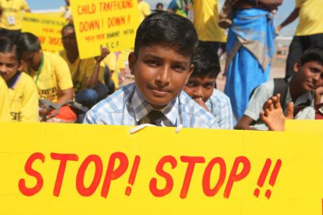 India kicks off world's largest march to protect children
