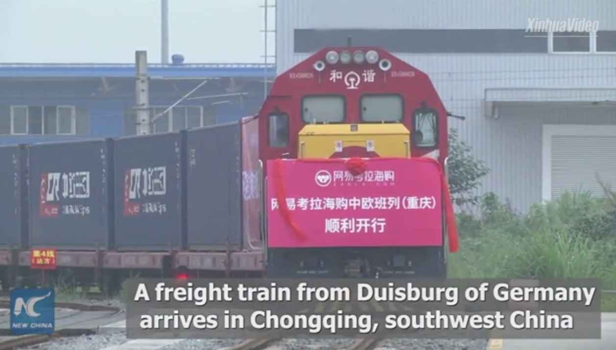 China's railway freight to increase 30 pct by 2020