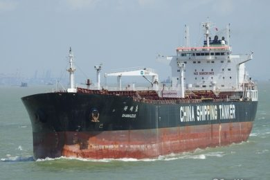 Shan Hu Zuo crude oil tanker – courtesy FleetMon.com