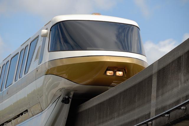 Tourist monorail featuring Confucian culture under construction