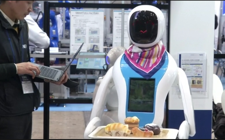 Japan's robot expo sparks debate on future of work
