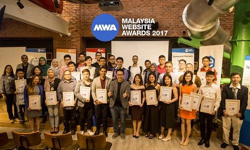 Malaysia Website Award 2017: Trendsetting Website Design