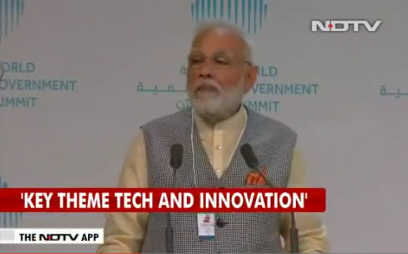 """India seeing revolution in digital payment technology"""": PM Modi in Dubai"""