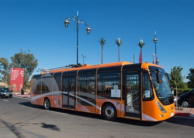 """""""Made in China"""" e-buses to be used in world's 1st all-electric long-distance"""