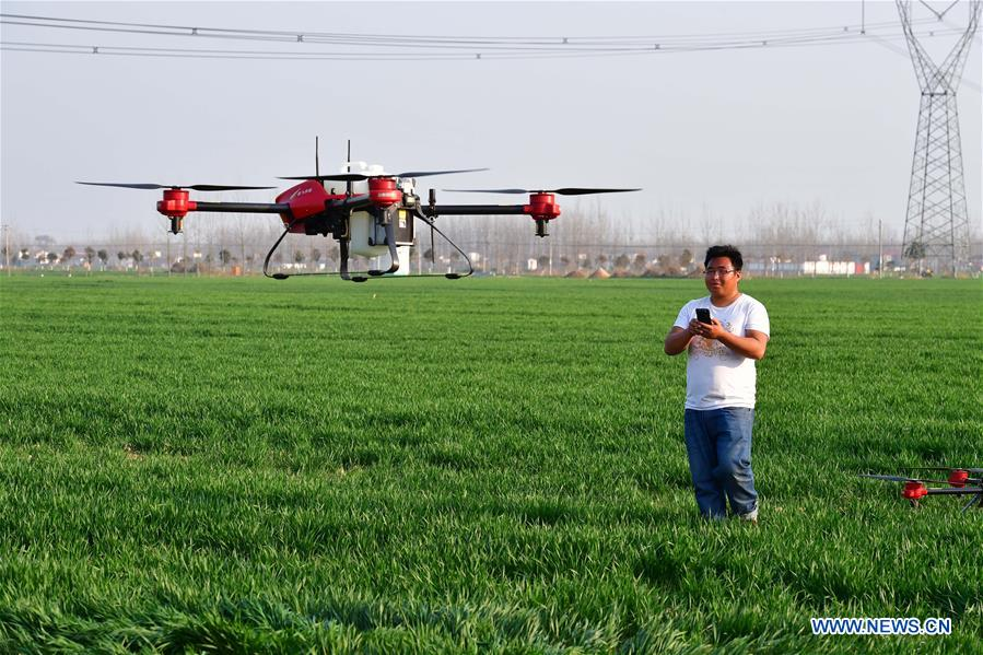Intelligent equipments start to serve farming industry in central China