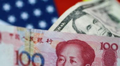 Yuan and Dollar – courtesy Russia Today