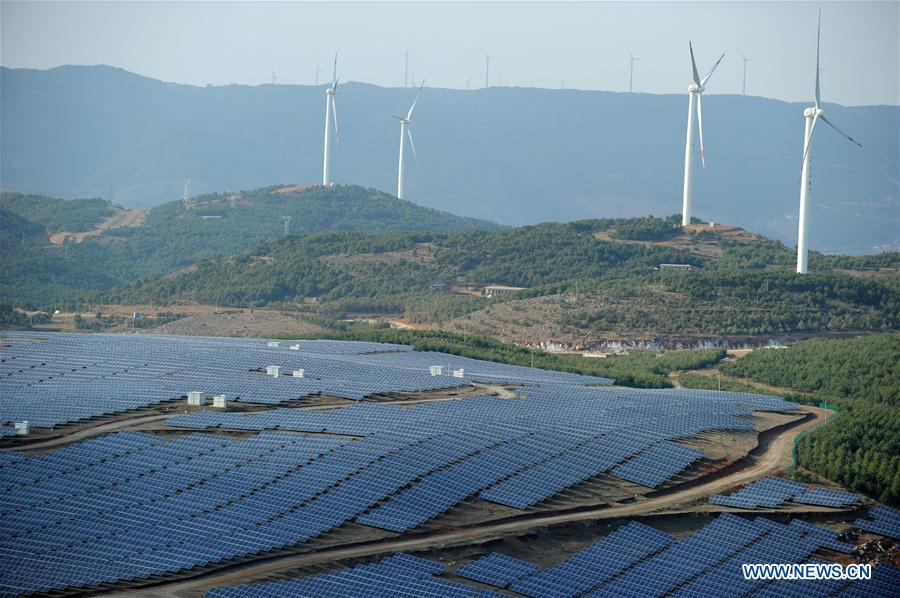 Green energy industry developed in China's Guizhou