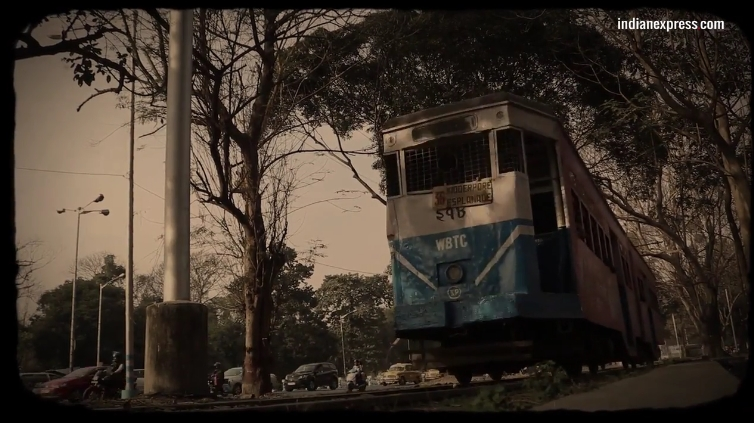 How trams are both a utilitarian and nostalgic mode of transportation in Kolkata