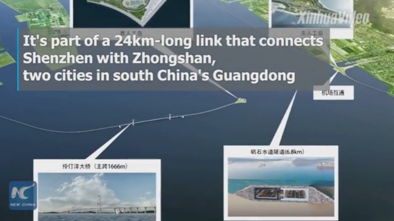 Construction starts on undersea tunnel in China