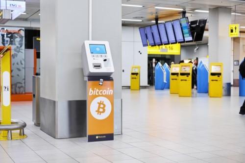 Exchange leftover euros for Bitcoin at Schiphol