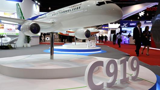 COMAC aims to obtain C919 jet's Chinese certification by the end of 2020