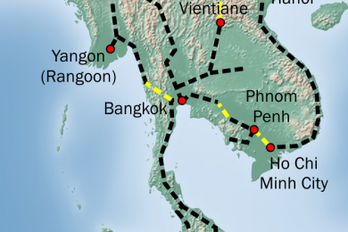 Pan Asia High Speed Rail – Kunming-Singapore courtesy Wikipedia (1)
