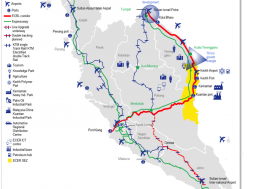 Proposed ECRL route – infographic, courtesy of Chartered Institute of Building – Global Construction Review (2)
