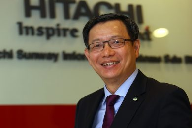 Cheah Kok Hoong, Group CEO and Director of Hitachi Sunway Information Systems