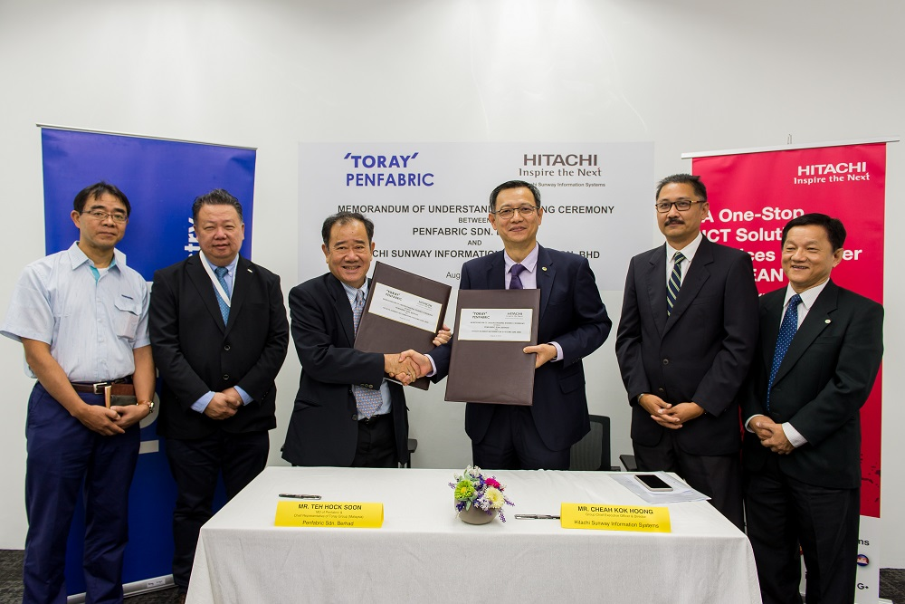 Penfabric looks to Hitachi Sunway to decrease energy usage