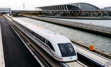 Shanghai Maglev – courtesy Wikipedia