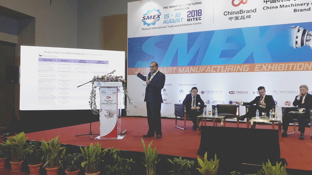 FDI from China can offset drop of FDI from Europe and Japan says Gomez