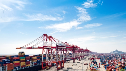 China's foreign trade up 9.1% in first eight months