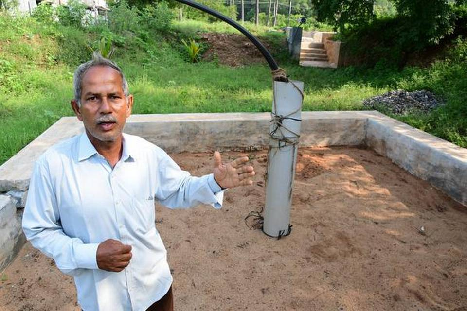 Water storage system brings hope to farmers during dry spells