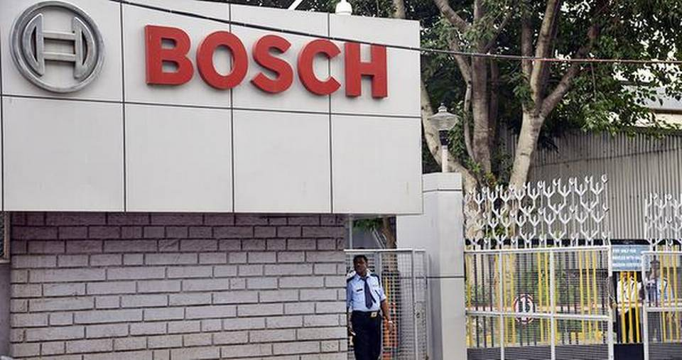 Bosch to invest 100 million euros in India