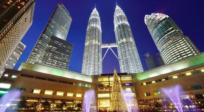KL skyline with Petronas Twin Towers