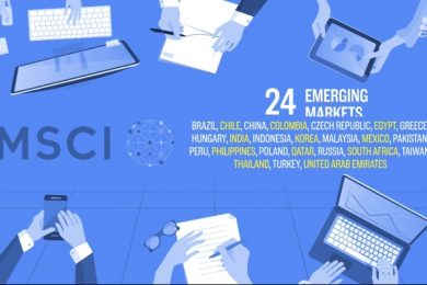 MSCI Index of Emerging markets