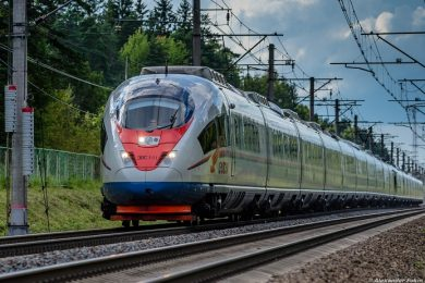 Russian train – courtesy New Eastern Outlook