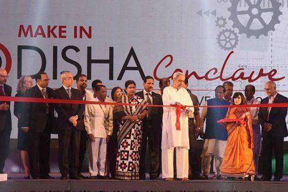 make in odisha conclave group shot