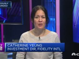Catherine Yeung of  Fidelity Investments