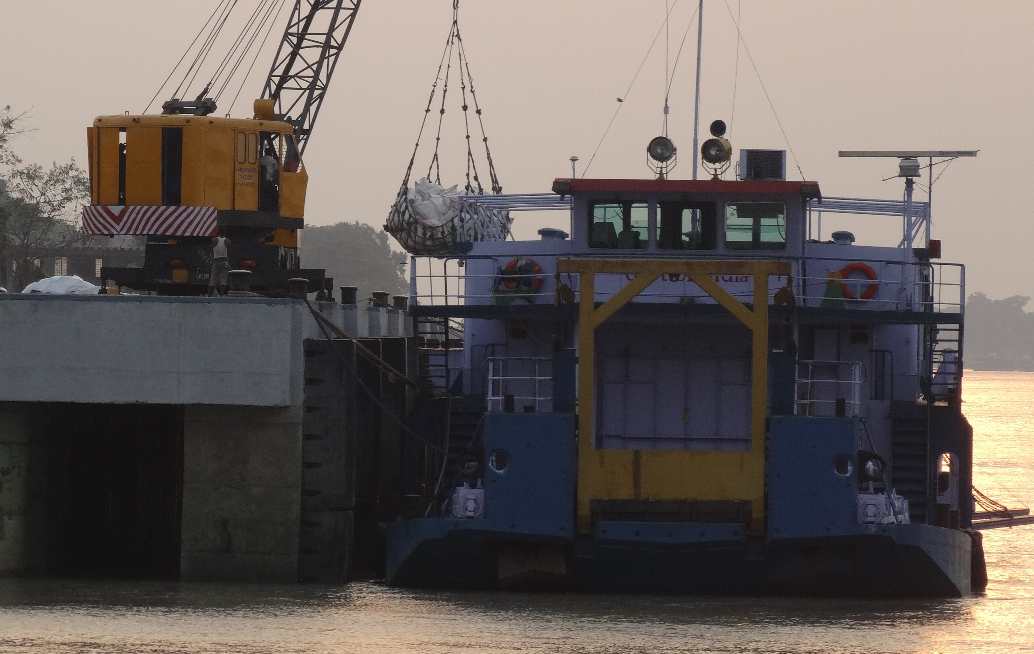 Bihar's capital Patna on board the game-changing container cargo circuit on Inland Waterways