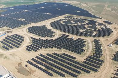 Panda-shaped China-Solar-farm – courtesy Clean Technica