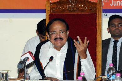 Vice President, Shri M Venkaiah Naidu